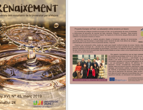 Dissemination of the project in Renaixement magazine